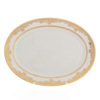Блюдо овальное Falkenporzellan Cream Gold 36 см