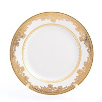 Набор тарелок Falkenporzellan C-CREAM 9077 Gold 17см(6 шт)