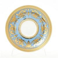 Набор блюдец Falkenporzellan Imperial Blue Gold