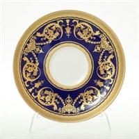 Набор блюдец Falkenporzellan Imperial Cobalt Gold (6 пар)