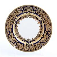 Набор тарелок Falkenporzellan Natalia cobalt gold 17 см(6 шт)