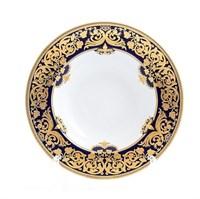 Набор тарелок глубоких Falkenporzellan Natalia cobalt gold 23,5 см(6 шт)