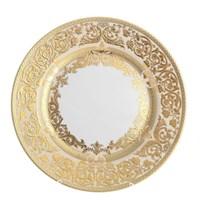 Блюдо круглое Falkenporzellan Natalia creme gold 32 см