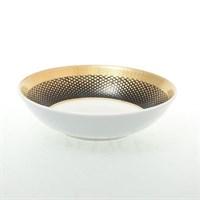 Набор разеток Falkenporzellan Rio black gold 11см (6 шт)
