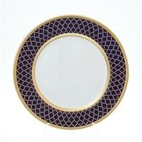 Блюдо круглое Falkenporzellan Valencia Cobald Gold 32 см