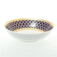 Набор розеток Falkenporzellan Valencia Cobalt Gold 11см (6 шт)