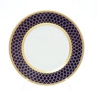 Набор тарелок Falkenporzellan Valencia Cobald Gold 17см(6 шт)