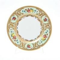 Набор тарелок Falkenporzellan Vienna Seladon Gold 17см(6 шт)