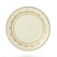 Набор тарелок Leander Антония Золотой узор слоновая кость 19 см