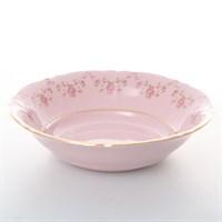 Набор салатников Leander Соната Мелкие цветы Розовый фарфор 16см(6 шт)