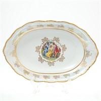 Блюдо для хлеба Sterne porcelan Мадонна Перламутр 36 см
