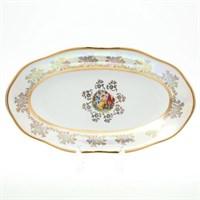 Блюдо овальное Sterne porcelan Мадонна Перламутр 24 см