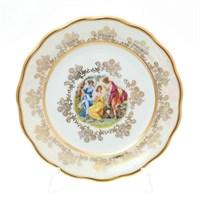 Набор тарелок Sterne porcelan Мадонна Перламутр 17 см(6 шт)