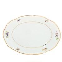 Блюдо овальное Sterne porcelan Фрукты 33 см