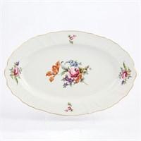 Блюдо овальное Bernadotte Полевой цветок 39 см