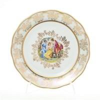 Набор тарелок Queen's Crown Мадонна перламутр 17 см(6 шт)