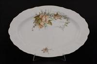 Блюдо овальное Bernadotte Зеленый цветок 39 см