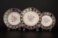 Набор тарелок 18 предметов Констанция Кобольт Полевой цветок