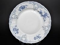 Блюдо круглое Bernadotte Синие розы 32 см
