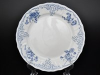 Набор тарелок 21см Bernadotte  Синие розы (6 шт)