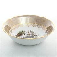 Салатник Sterne porcelan Охота Бежевая 23см
