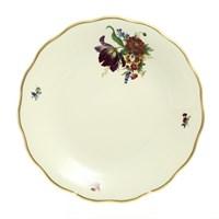 Блюдо круглое Sterne porcelan Слоновая кость 30см