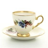 Набор кофейных пар Sterne porcelan Слоновая кость 170 мл