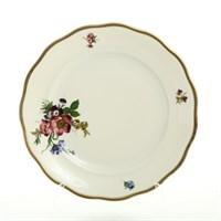 Набор тарелок Sterne porcelan Слоновая кость 25 см