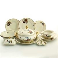 Столовый сервиз на 6 персон Sterne porcelan Слоновая кость 27 предметов