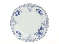 Блюдо круглое Bernadotte Синие розы 30 см