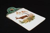Доска для нарезки Queen's Crown Охота зеленая 24 см