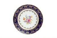 Набор тарелок Thun Констанция  Полевой цветок Кобальт 21см (6 шт)