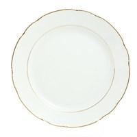 Блюдо круглое Thun Констанция отводка золото 30 см