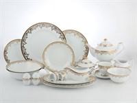 Столово-чайный сервиз на 12 персон 79  предметов Согдиана