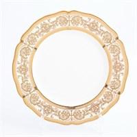 Набор тарелок Prouna Golden Romance Cream Gold 27см(6 шт)