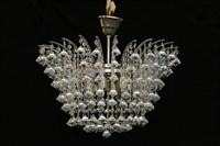 Люстра Титаниум Жучок Titania Lux 6 свечей  Диаметр-51 Высота-45