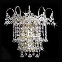 Бра 2 светильника титаник золото Титания Люкс