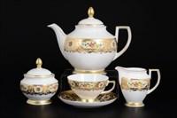 Чайный сервиз Falkenporzellan Vienna Creme Gold 6 персон 15 предметов