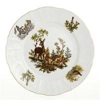 Набор тарелок Bernadotte Охота 25 см(6 шт)