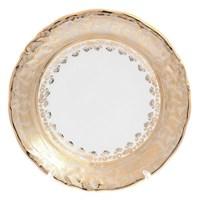 Набор тарелок Carlsbad Фредерика Лист Бежевый 19 см(6 шт)