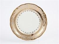 Набор тарелок Carlsbad Фредерика Лист Бежевый 21 см(6 шт)