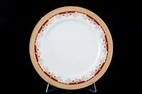 Набор тарелок Thun Кристина красная лилия 21 см(6 шт)