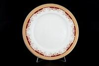 Набор тарелок Thun Кристина красная лилия 25 см(6 шт)