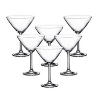 Набор бокалов для мартини Crystalite Bohemia Colibri/Gastro 280 мл (6 шт)