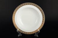 Набор тарелок глубоких Thun Кристина платиновая золотая лента 22 см(6 шт)