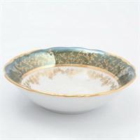 Набор салатников Sterne porcelan Зеленый лист 16 см (6 шт)