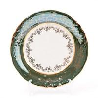 Набор тарелок Sterne porcelan Зеленый лист 19 см (6 шт)