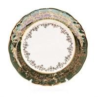 Набор тарелок Sterne porcelan Зеленый лист 21 см (6 шт)
