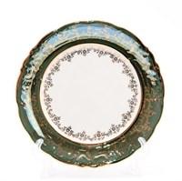 Набор тарелок Sterne porcelan Зеленый лист 25 см (6 шт)