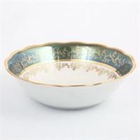 Салатник Sterne porcelan Зеленый лист 23 см